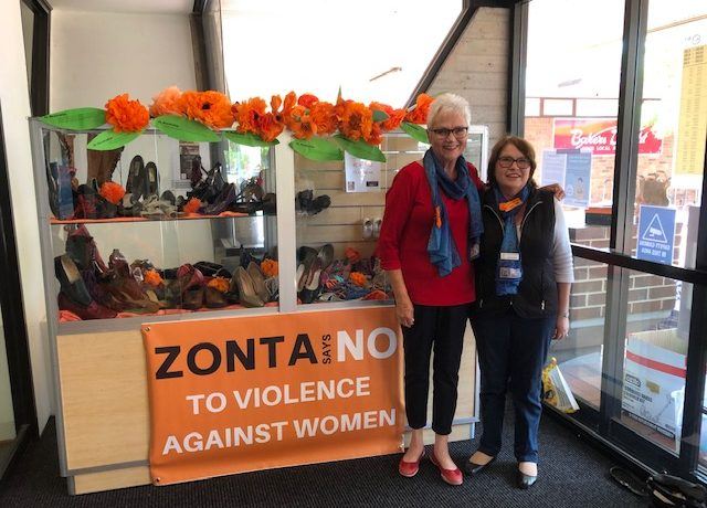 Canberra turns orange to say no to violence against women