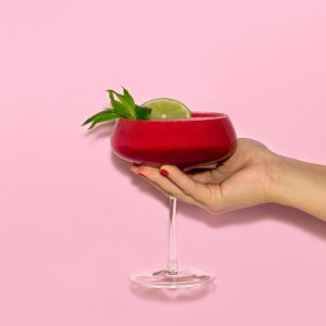 Recipe: Frozen Raspberry & Mint Mocktail Slushie
