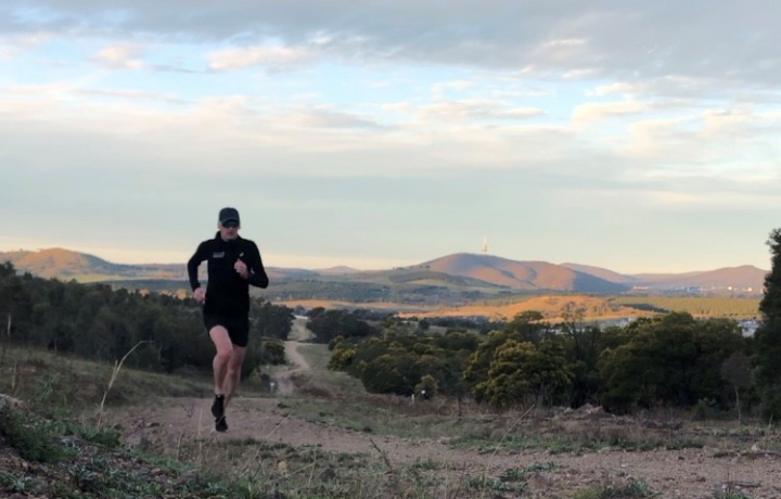 Could you run all of Canberra's 130+ suburbs? Ken did.