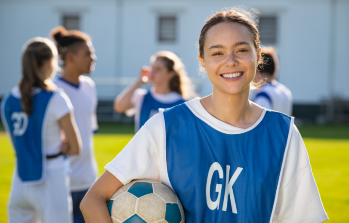 Heading to weekend kids sport? Don't forget to check in