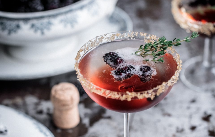 Recipe: Blackberry and Thyme Fizz