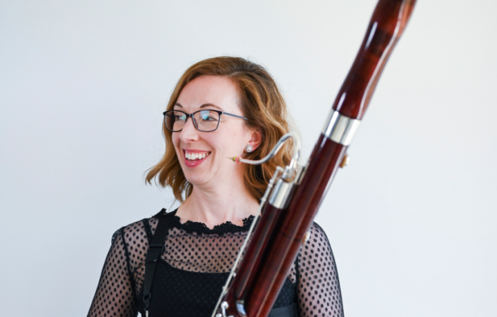 Meet the specialist audiologist and bassoonist combining her passions for people with hearing loss