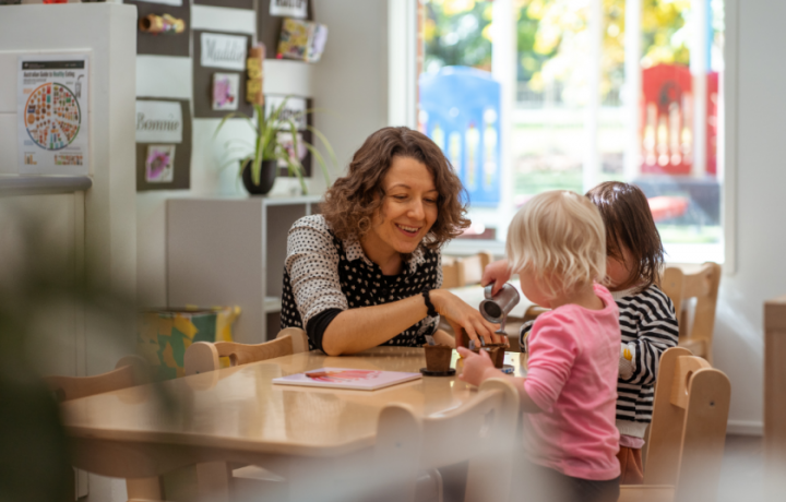 Inside Canberra's brand new early education centre where they do things differently
