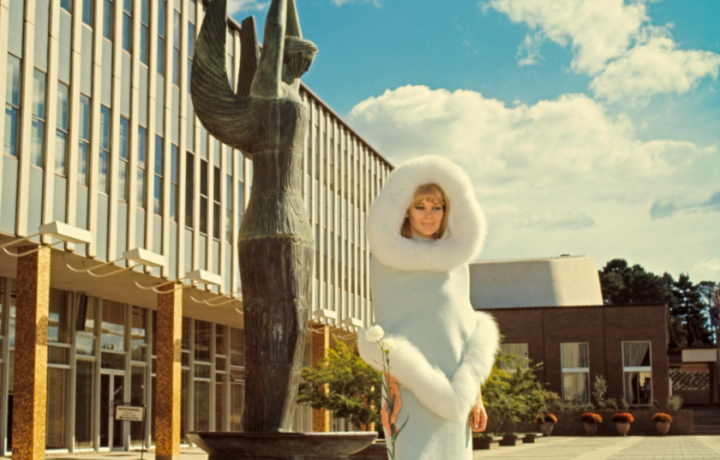How Pierre Cardin brought the space race to Canberra in 1967