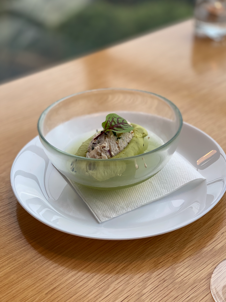 Blue swimmer crab remoulade