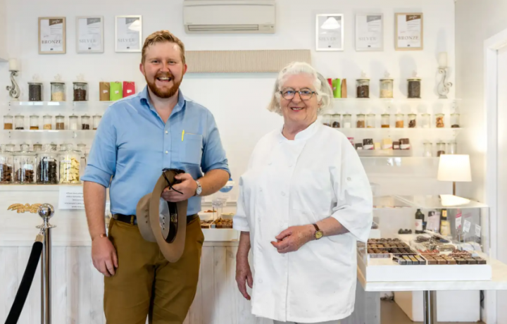 Canberra's chocolate queen hangs up her apron