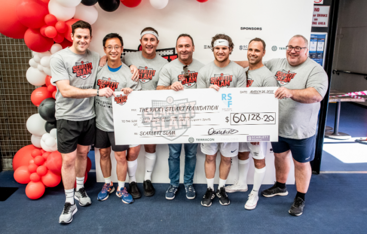 How a few games of table tennis raised over $60,000 for individuals living with a disability