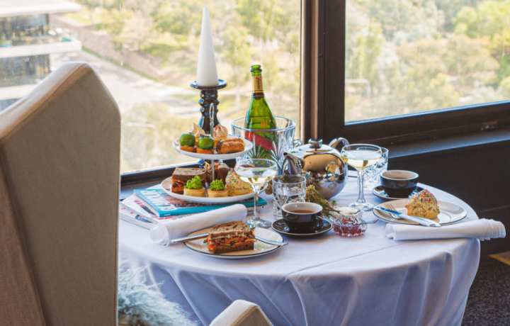 Hey Q-Teas: QT Canberra launches Sky High Tea in penthouse lounge