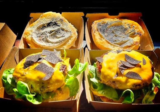 Fun Guys Truffle Burgers are back