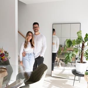 Home Stories: Sarah Willox and AJ Valeri
