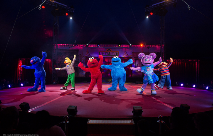 Head to the heated big top for the Sesame Street Circus Spectacular