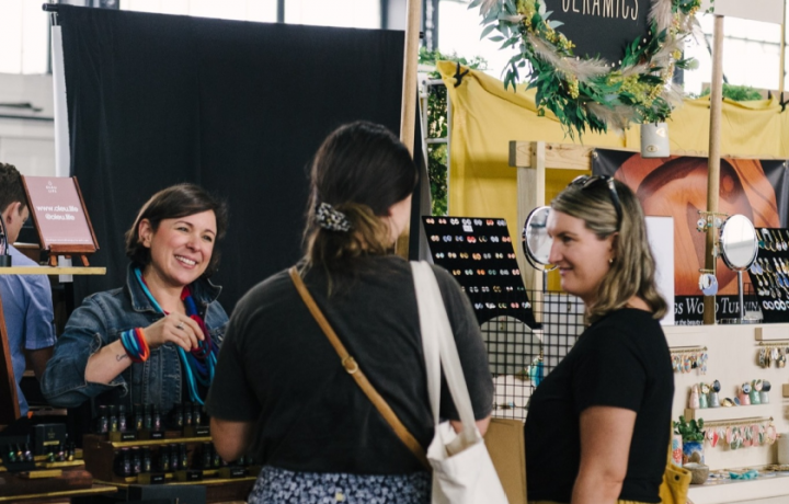 Handmade will hold its first in-person market for 2021 this month