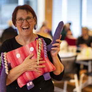 Good Omen Goodeze: bringing comfort to the Canberra community, one stitch at a time