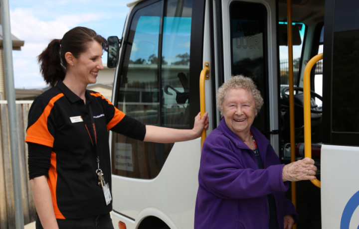 Denise thought Communities@Work's transport service was too good to be true—but it's not