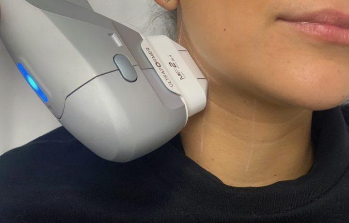 Lowering the focus to nicer necks