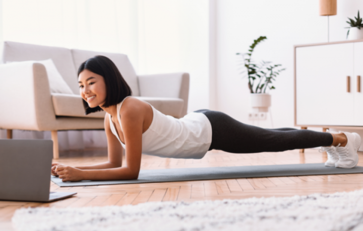 At-home workplace workout: Wednesday