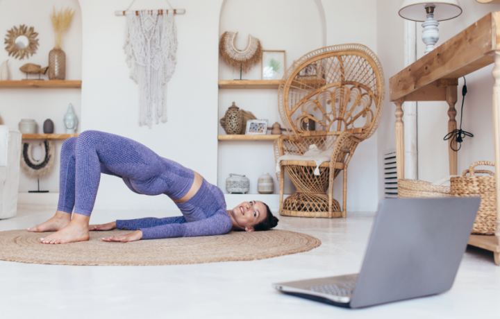 At-home workstation workouts: Day Four