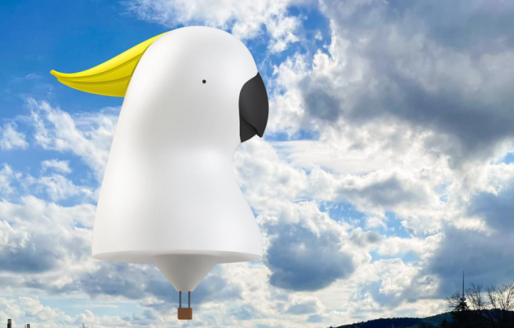 Move over Skywhale, there's a new icon gracing the skies of Canberra!