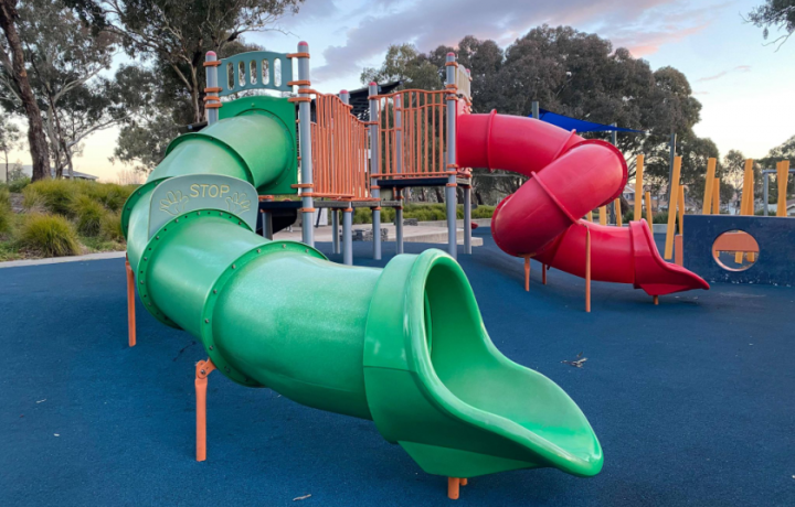 Canberra's best playgrounds, from someone who's rated most of them!
