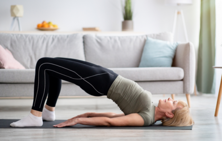 At-home Workplace Workouts: Pandemic Pilates