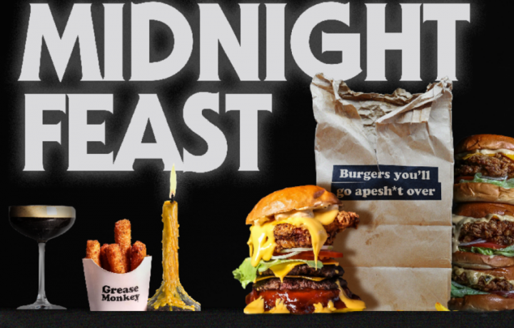 You could win a midnight feast at Grease Monkey