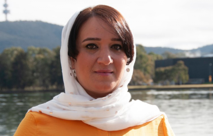 """Afghan refugee and visual artist Hangama Obaidullah: """"Being in lockdown caused past traumas to surface"""""""